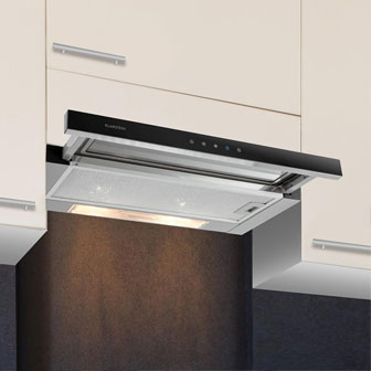 Substructure cooker hood