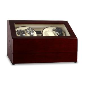 Classic Watch Winder Display Case - Holds 10 Watches Pure Handmade