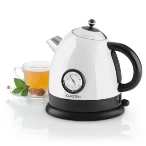 Aquavita Kettle 1.5L 2200w Stainless Steel White