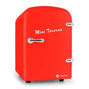 Mini Taverna Portable Cooler 4L Cool Box - Red