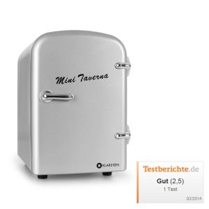 Mini Taverna Portable Cooler 4L Cool Box - Silver