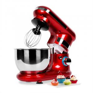 Serena Rossa Stand Mixer 600W 4-Piece Red