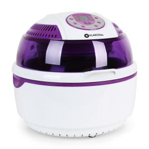 VitAir Hot Air Fryer Grilling and baking 1400W Purple White