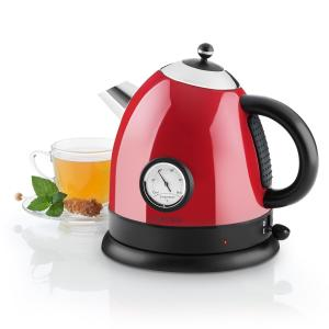 Aquavita Kettle 1.5L 2200w Stainless Steel Red