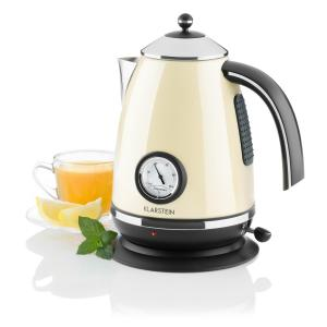AquaVita Chalet Electric Kettle 1.7L 2200W Cream