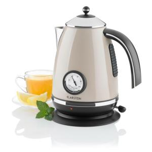 AquaVita Chalet Electric Kettle 1.7L 2200W Champagne