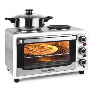 Omnichef 23HW Mini Oven with Hot Plates 1500W 23L White