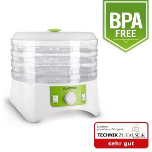Appleberry Food Dehydrator White / Green BPA Free 400W