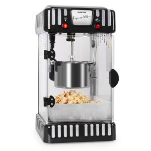 Volcano 300W Popcorn Machine Stainless Steel Kettle Black