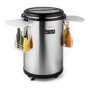 Mr. Barbot Portable Bar Fridge Party Cooler 50L Stainless Steel