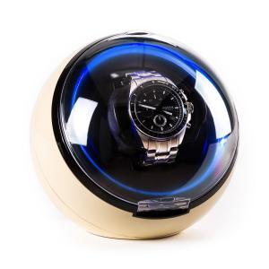 Klarstein St.Gallen Deux Watch Winder 4 moduri de LED-uri crem
