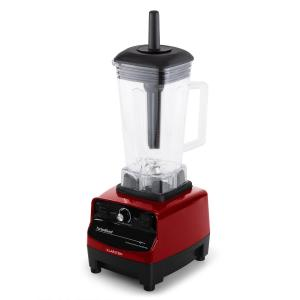 Herakles 3G Standmixer Power-Blender Hochleistungsmixer Smoothie  Maker | Leistungsstark: 1500 Watt / 2 PS / 40.000 U/min | BPA-freier Mixkrug mit  2 Liter Volumen | Puls-Funktion | 6 rostfreie Edelstahlklingen | Zerkleinerer |  Icecrusher | rot