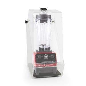 Herakles 3G Standmixer Rot mit Cover 1500W 2,0 PS 2 Liter BPA-frei