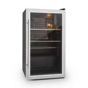 Beersafe XXL Fridge Refrigerator 80 L Class A+ Glass Door Stainless