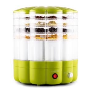 YoFruit Fruit Dryer 5 Tier with Yoghurt Maker Combo Green
