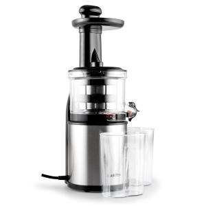 Flowjuicer licuadora prensado en frio cold press juicer 80RPM acero