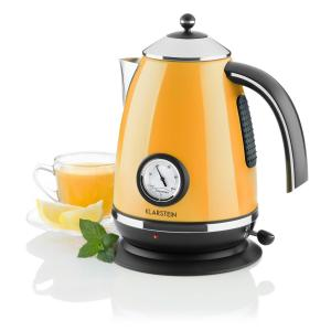 Aquavita Chalet Wasserkocher orange 1,7 Liter 2200W