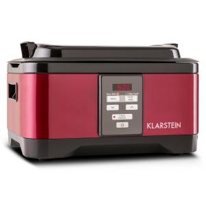 Tastemaker Sous-Vide Slow Cooker 6L 550W Stainless Steel Red