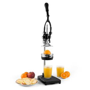 TriJuicer Presse-fruits à levier Coupe-frites Coupe-fruits -noir