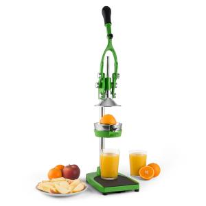 TriJuicer Presse-fruits à levier Coupe-frites Coupe-fruits -vert