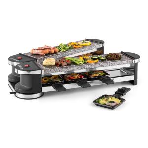 Tenderloin 100 Raclette Grill 1200W 8 Persons 2 x Natural Stone Slabs