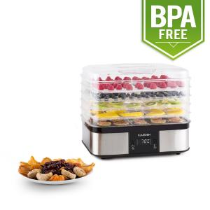 Valle di Frutta 5-Tiered Stainless Steel Food Dehydrator 250W