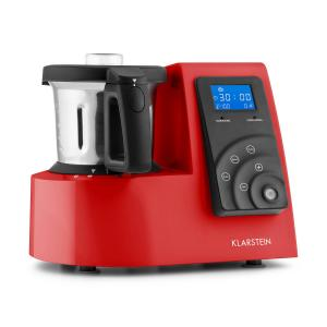 Kitchen Hero Robot de cuisine 9 en 1 Thermos 2l 600/1300W -rouge