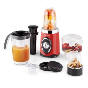 Fruizooka Mixer Smoothie Maker 4-in-1 Multifunctional Device 220W Red