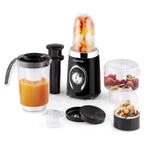 Fruizooka Mixer Smoothie Maker 4-in-1 Multifunctional Device 220W Black