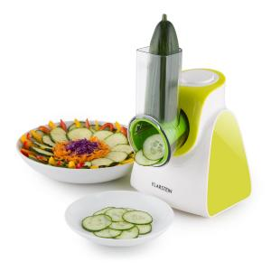 Carrot & Rock Salad Cutter Slicer Grater 150W 5 Attachments Green