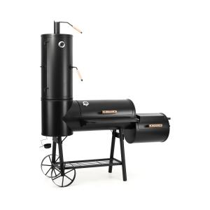 Monstertruck BBQ Smoker Grill Steel Black
