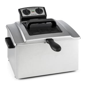 QuickPro XXL 3000 Fryer Deep Fryer 5L 1.5kg 3000W Timer Stainless Steel