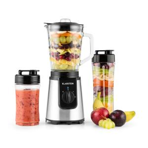 Shiva Stand Mixer Blender Mini Smoothie Maker 0.8L 350W BPA-Free Black