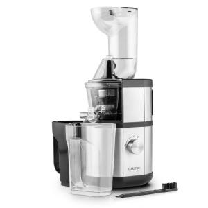 Fruitberry Slow Juicer 400W 60 RPM Filler Tube Ø8.5 cm Stainless Steel