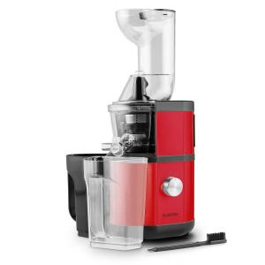 Fruitberry Extracteur de jus Slow Juicer 400W 60T/min Ø 8,5cm -rouge