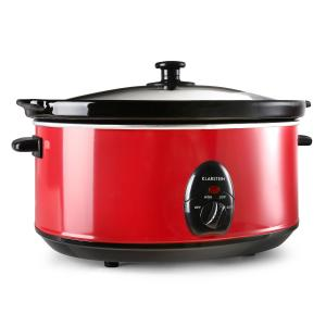Bristol 65 Slow Cooker 6.5 Litre 300W Red