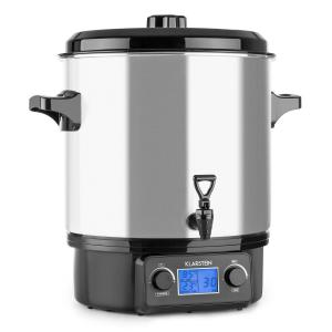 Biggie Digital Olla pasteurizadora 27l 2000W Acero inoxidable