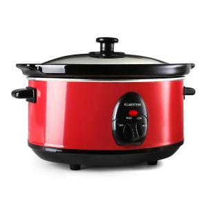 Bristol 35 Slow Cooker 3.5 Litres 200W Red