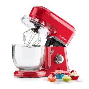 Allegra Rossa Stand Mixer 800 W 4.2 L Glass Bowl Red