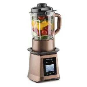 Herakles Heat Suppenmixer 1300W/1,7PS 900W 1,75l BPA-frei Glas bronze