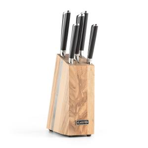Katana 6 Knife Set 6-Piece Solid Wood Knife Block 3Cr13 Stainless Steel