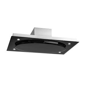 Secret Service campana extractora 220W Touch cristal LED