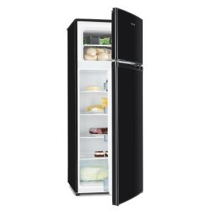 Height Cool Black Refrigerator Freezer Combination 171/41l2-Door A++ Black
