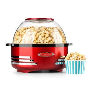 Couchpotato Popcorn Machine Electric Popcorn Maker Red