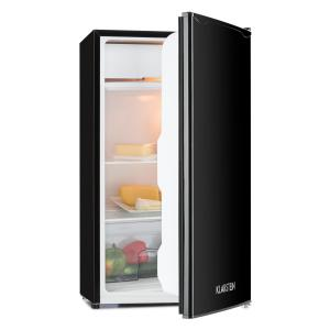 Single supply refrigerator 90l class A + 2 levels icebox black