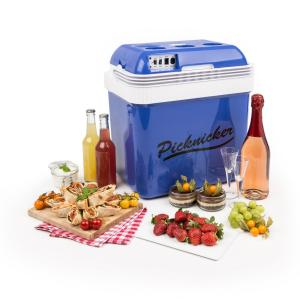 Big Picknicker Thermo-Kühlbox 24L A++ AC DC Auto blau