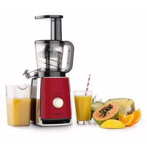 Sweetheart Extracteur de jus Slow Juicer 150 W 32T/mn - rouge