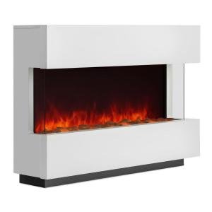 Studio-1 Electric Fireplace LED Flame Simulation 750/1500 W 40m² White
