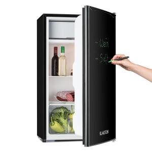 Spitzbergen Uni Refrigerator 90 l A + 2 Levels Ice Compartment Black