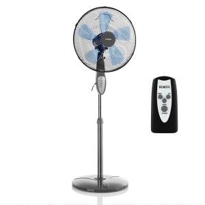 Summerjam Stand Fan 41cm 50W 3 Steps Grey